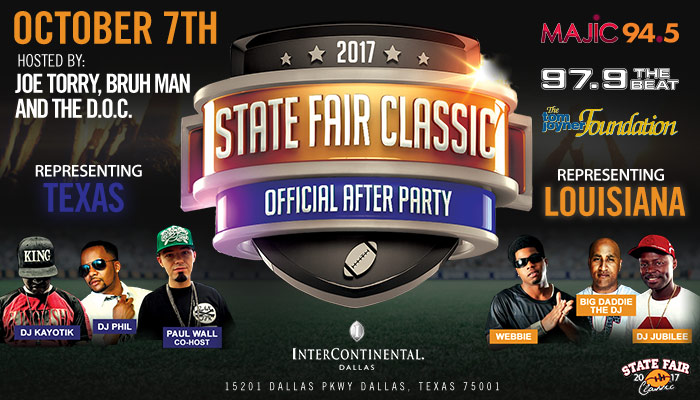 State Fair Classic Official After Party