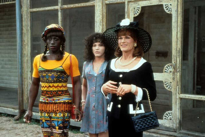 Wesley Snipes And Patrick Swayze In 'To Wong Foo Thanks for Everything, Julie Newmar'