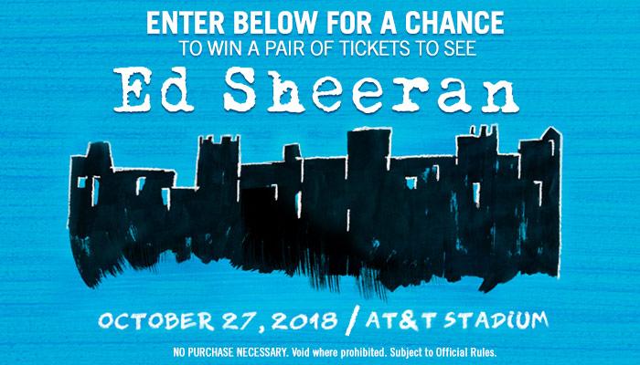 Ed Sheeran Online Contest 2017
