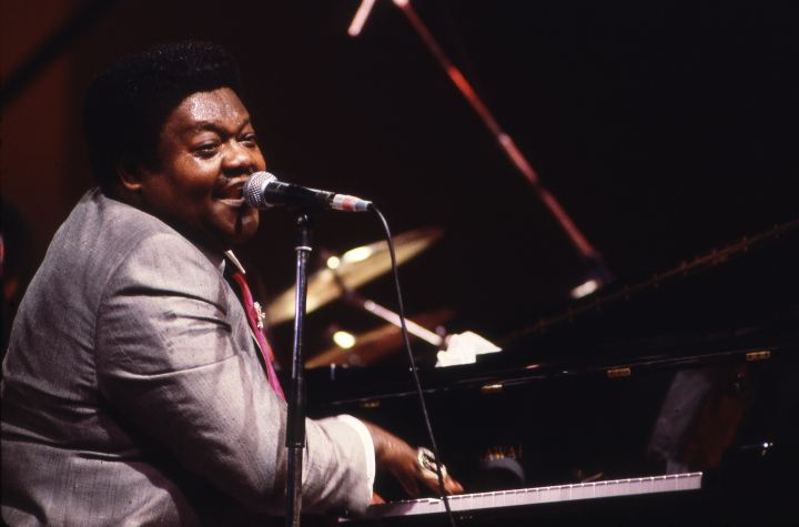 American singer Fats Domino