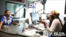 Miguel at 97.9 The Beat