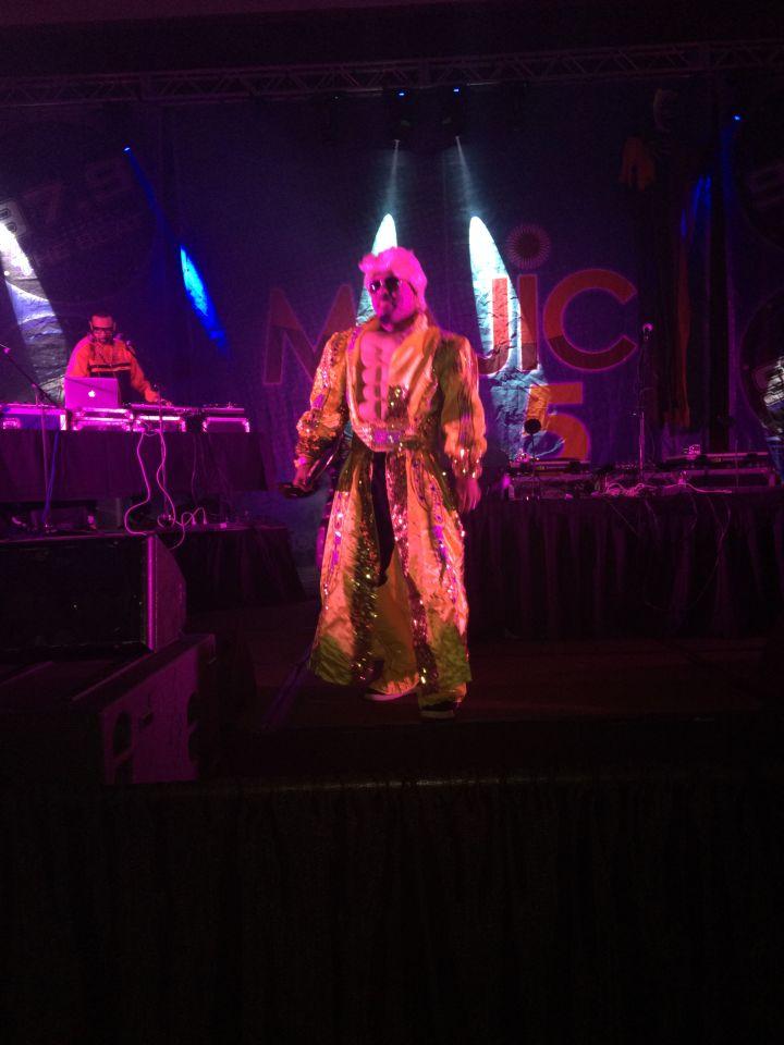 Comedian D. ELLI$ at Halloween Bash 2017