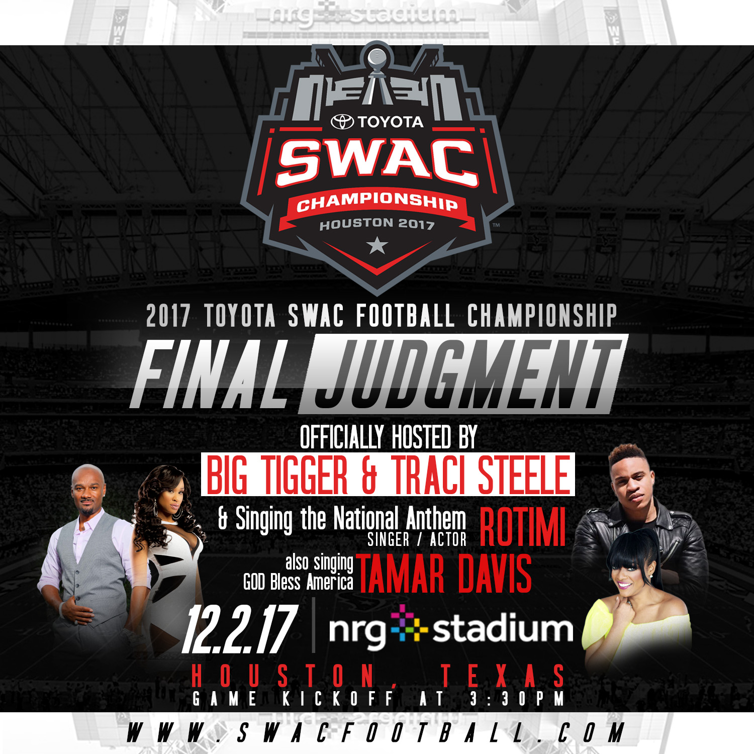 THE TOYOTA SWAC FOOTBALL CHAMPIONSHIP