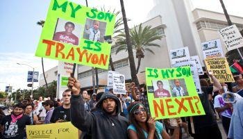 Trayvon Martin Protest in Los Angeles