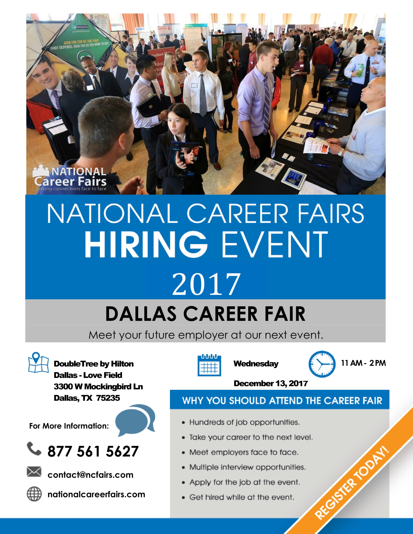National Career Fairs Hiring Event