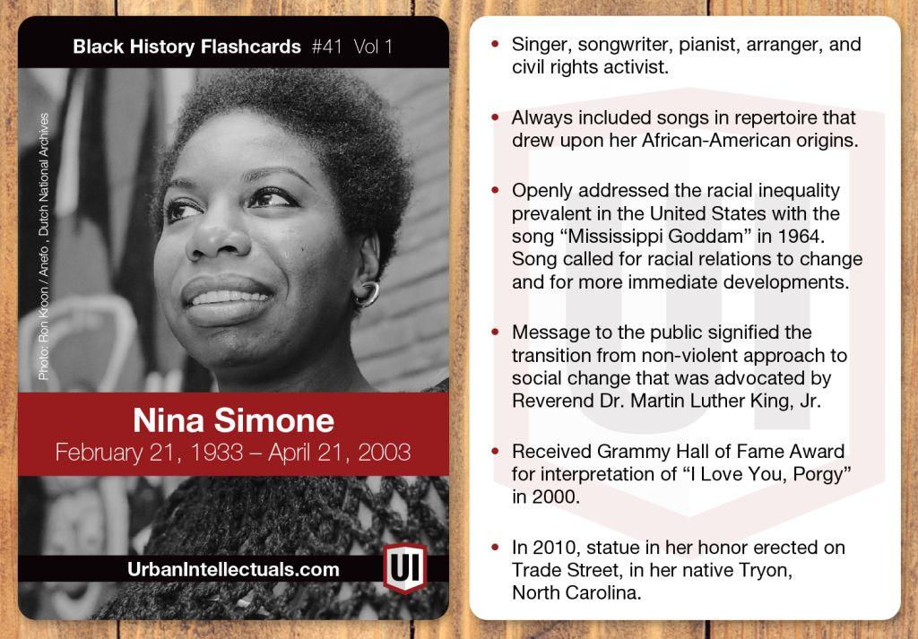Black History Month: Nina Simone | 97 9 The Beat