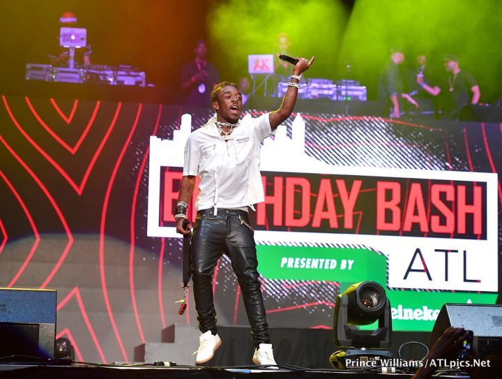 Lil Uzi Vert at #BirthdayBashATL2017