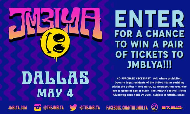 JMBLYA Ticket Giveaway Sweepstakes