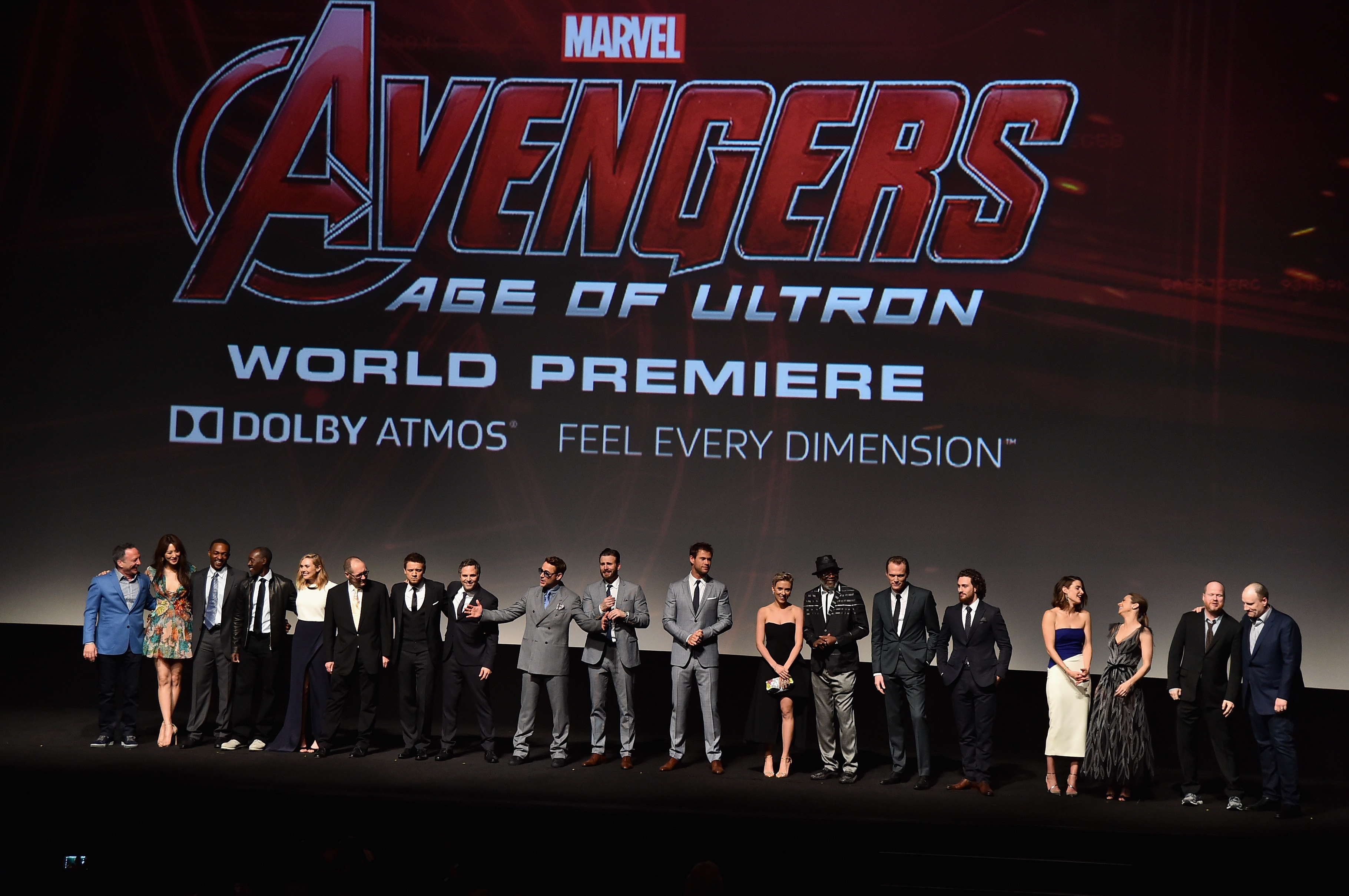 World Premiere Of Marvel's 'Avengers: Age Of Ultron' - Red Carpet