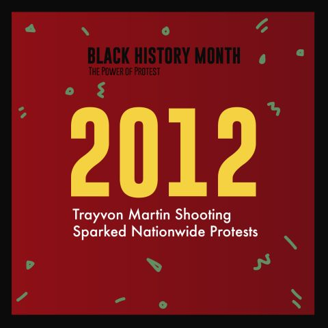 Black History Month 2018 Power Of Protests Timeline
