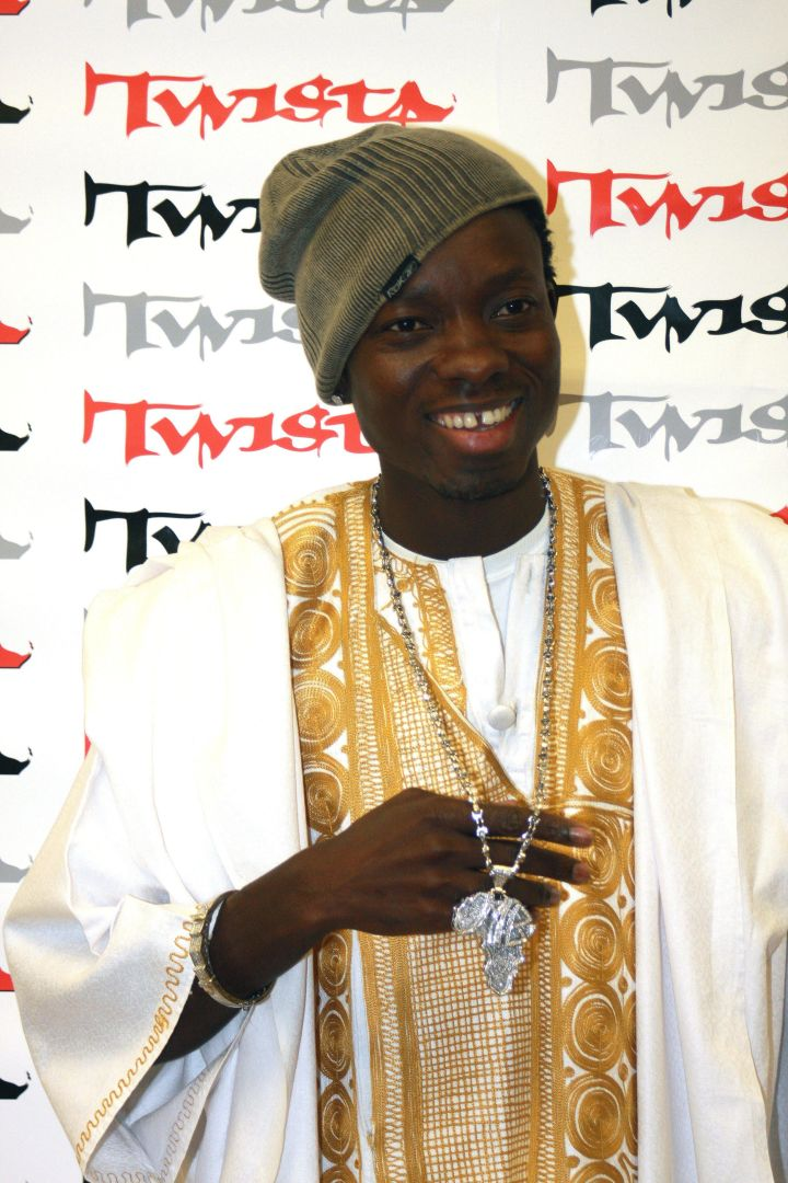 Comedian Michael Blackson