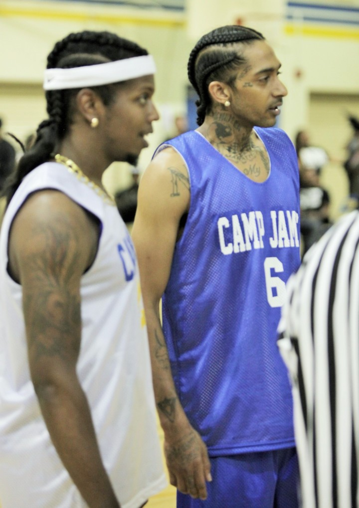 Trinidad James hosts Celebrity Basketball Game at Crenshaw High School