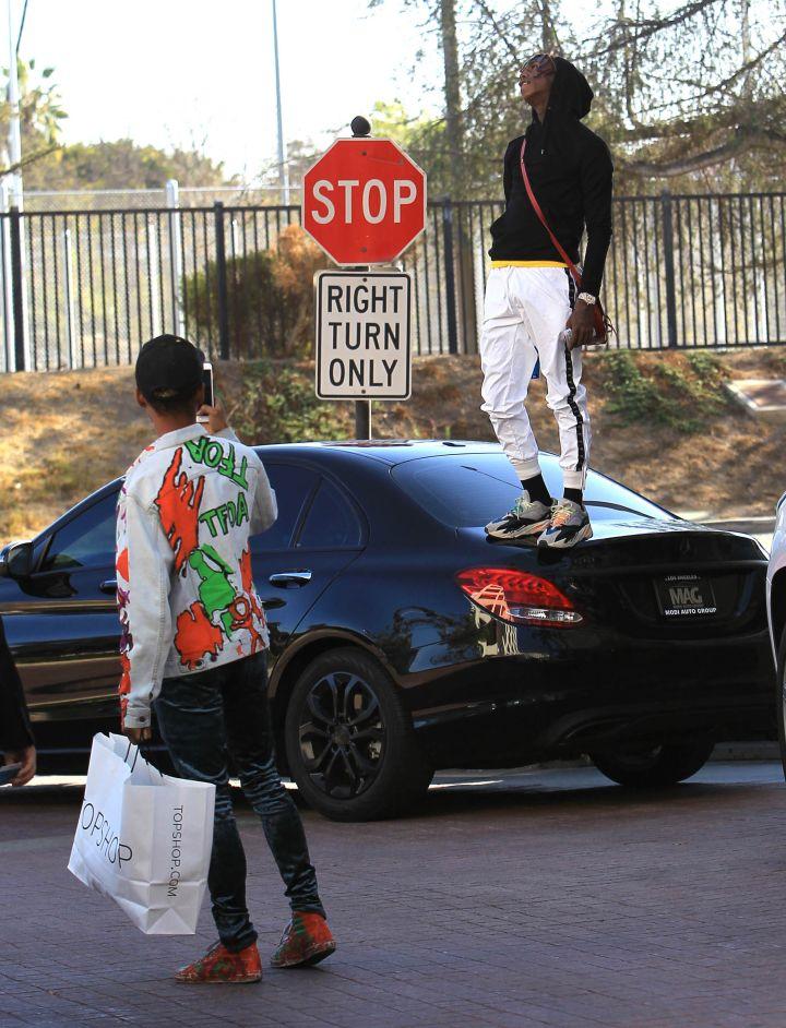Celebrity Sightings In Los Angeles – December 17, 2017