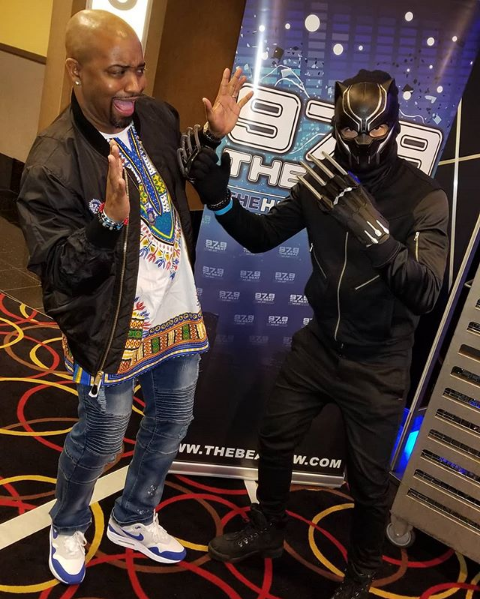 Black Panther Movie Screening Dallas