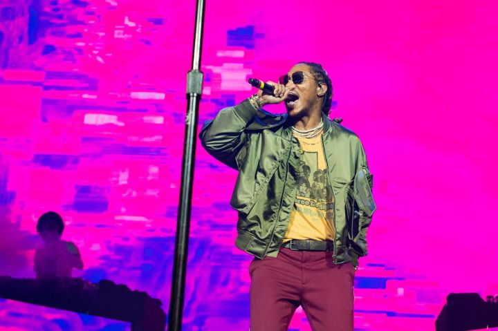 Future Performs At Le Zenith In Paris