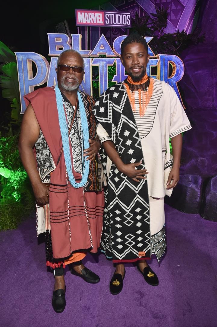 John Kani (L) and Atandwa Kani (R)