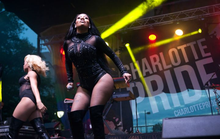 K. Michelle Performs At The Pride Festival – Charlotte, NC