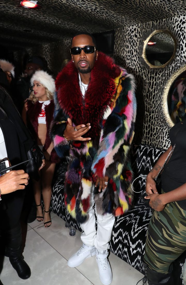 Safaree 'Fur Coat Vol.1' Listening Party