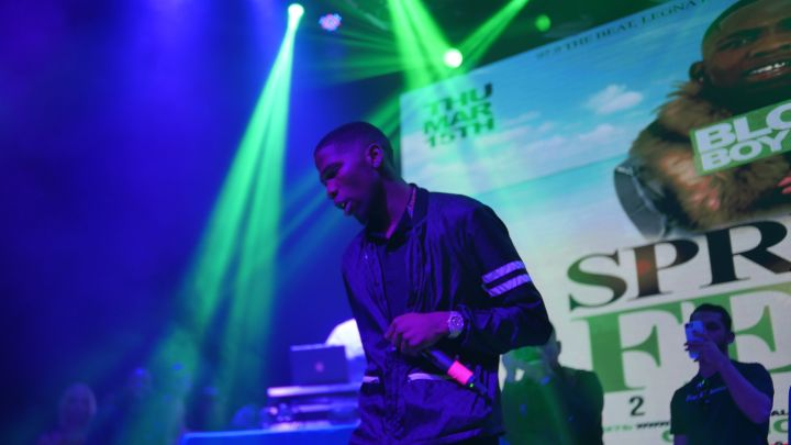 BlocBoy JB at 97.9 The Beat's Spring Fest 2018