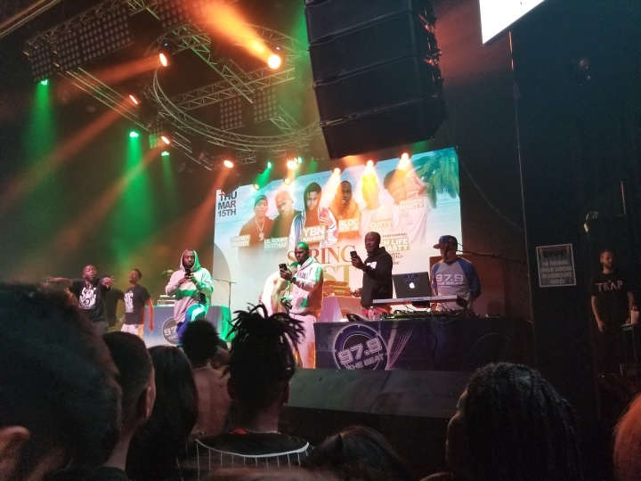 Sherwood Marty at 97.9 The Beat's Spring Fest 2018