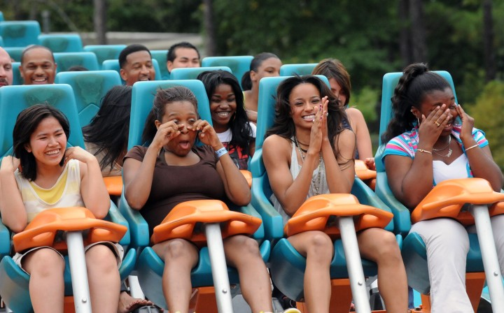 Ciara Takes Over Six Flags – Goliath Renamed 'Fantasy Ride' In Her Honor