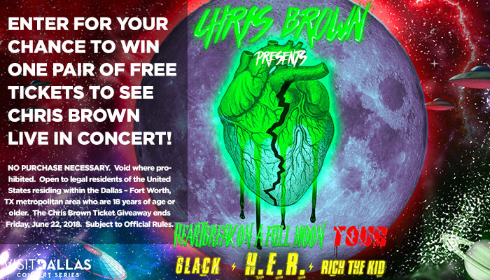 Chris Brown Sweepstakes