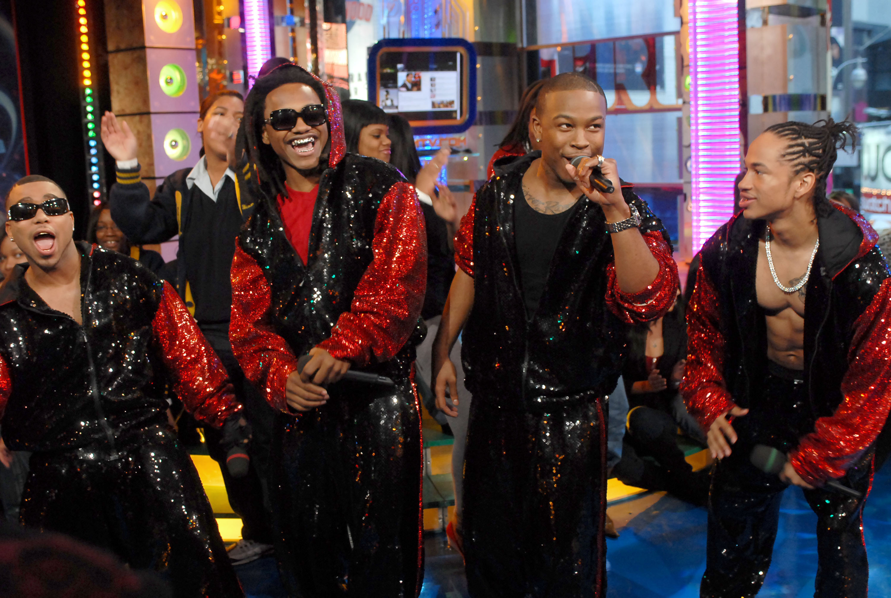 Carmen Electra, Ryan Reynolds, Alicia Keys, Jeremy Piven and Pretty Ricky Visit MTV's 'TRL' - January 23, 2007