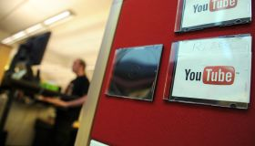 Employees work at the Youtube headquarte