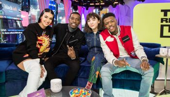 Celebrities Visit MTV TRL - February 13, 2018