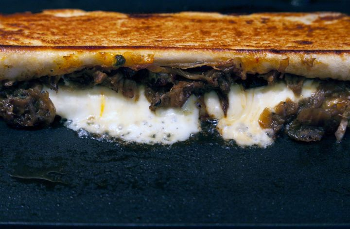 Grilled Cheese Steak Sandwich
