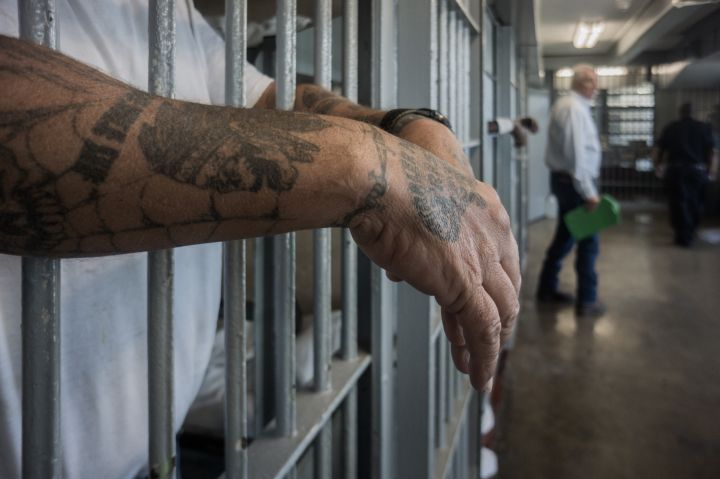 ANGOLA PRISON, LOUISIANA, USA.