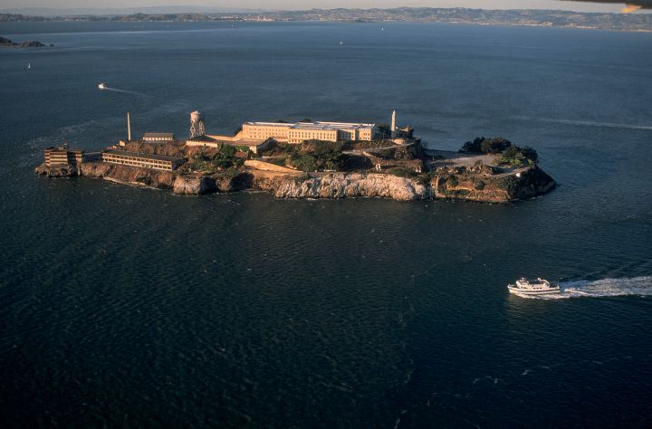 L'ILE D'ALCATRAZ, SAN-FRANCISCO, CALIFORNIE, USA