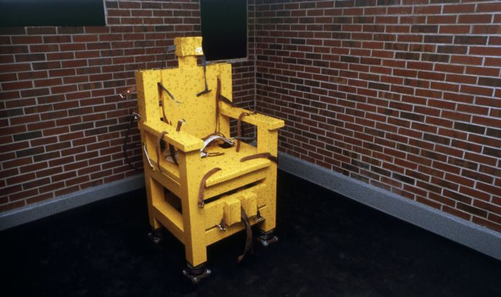 Electric Chair in Holman Prison