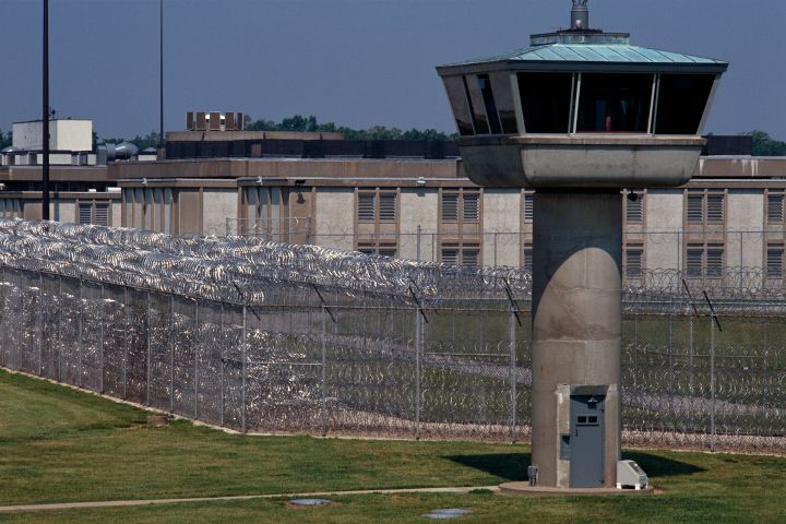 Exterior of an Illinois Federal Prison