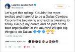 Vander Esch Tweets