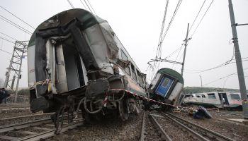 Milan Train Crash: Commuter train Derails In Italy