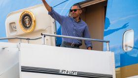 Obama Returns To Washington