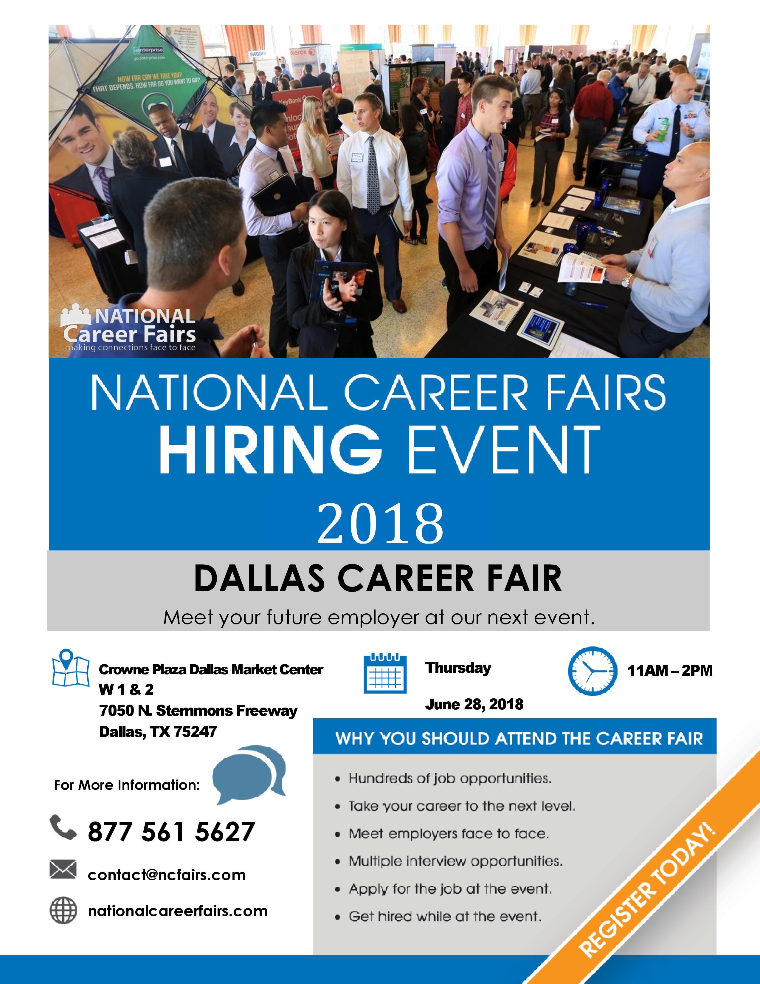 National Career Fairs Hiring Event On June 28th