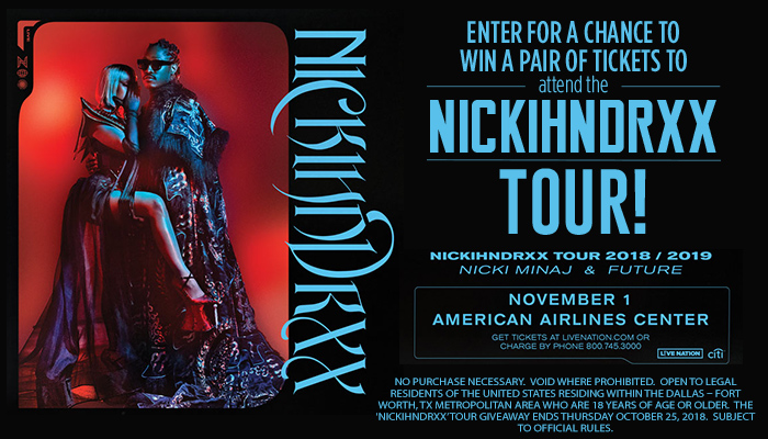 'NICKIHNDRXX' TOUR'_Enter-to-win Contest