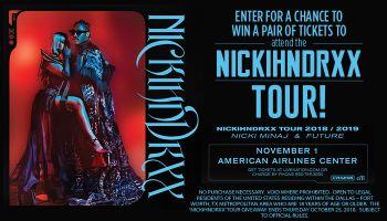 'NICKIHNDRXX' TOUR'_Enter-to-win Contest