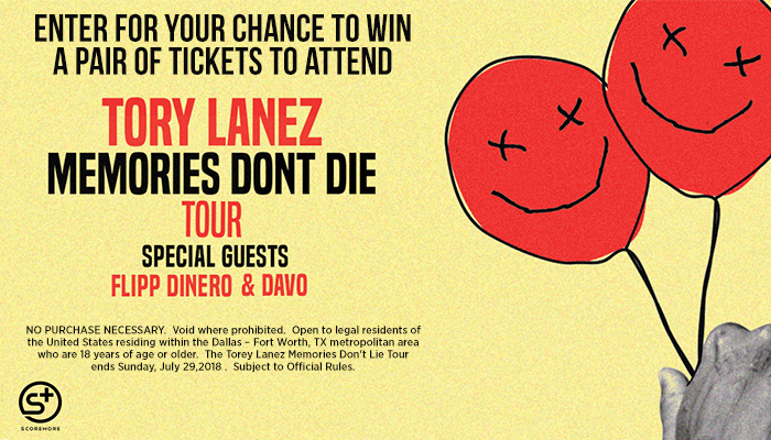 Tory Lanez Memories Don't Lie Giveaway Sweepstakes