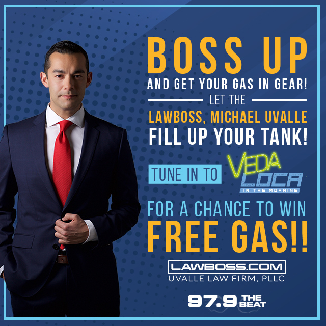 Uvalle Gas Giveaway