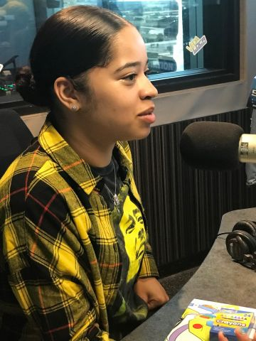 Ella Mai Stops By 97.9 The Beat