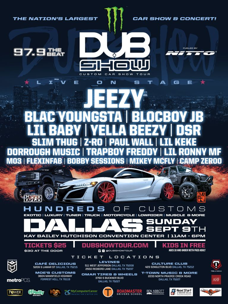 Dallas Car Show >> Lil Baby Mo3 Camp Zeroo Have Just Been Added To The