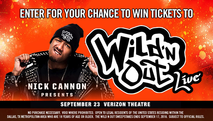 Local: Wild N Out Ticket Giveaway_Enter-to-win Contest_KBFB_RD_Dallas_August 2018