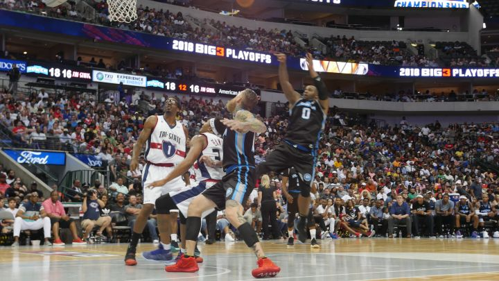 BIG3 Basketball Playoffs In Dallas (PHOTOS)