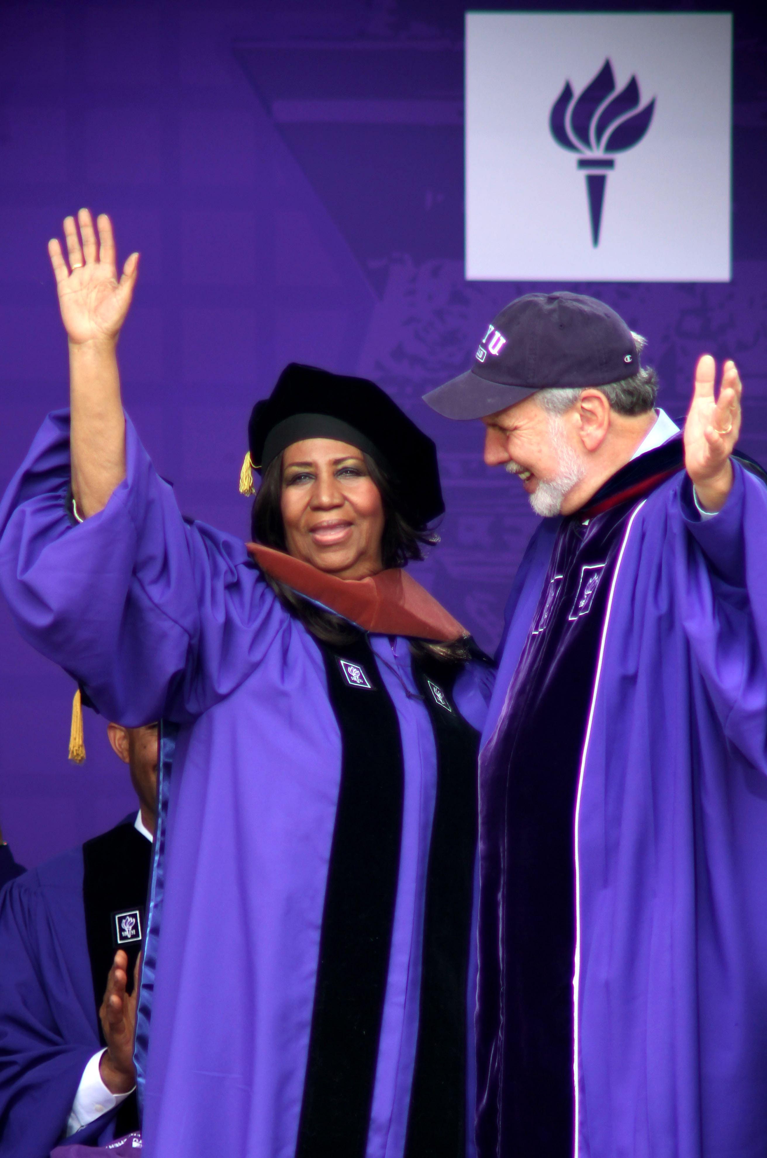 2014 New York University Commencement Ceremony