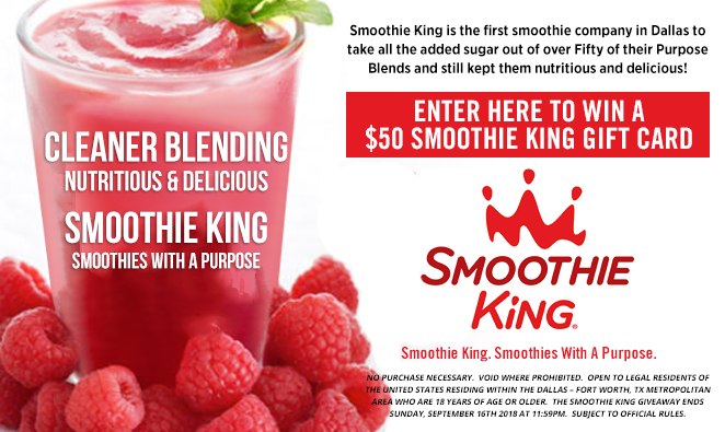 Smoothie King September