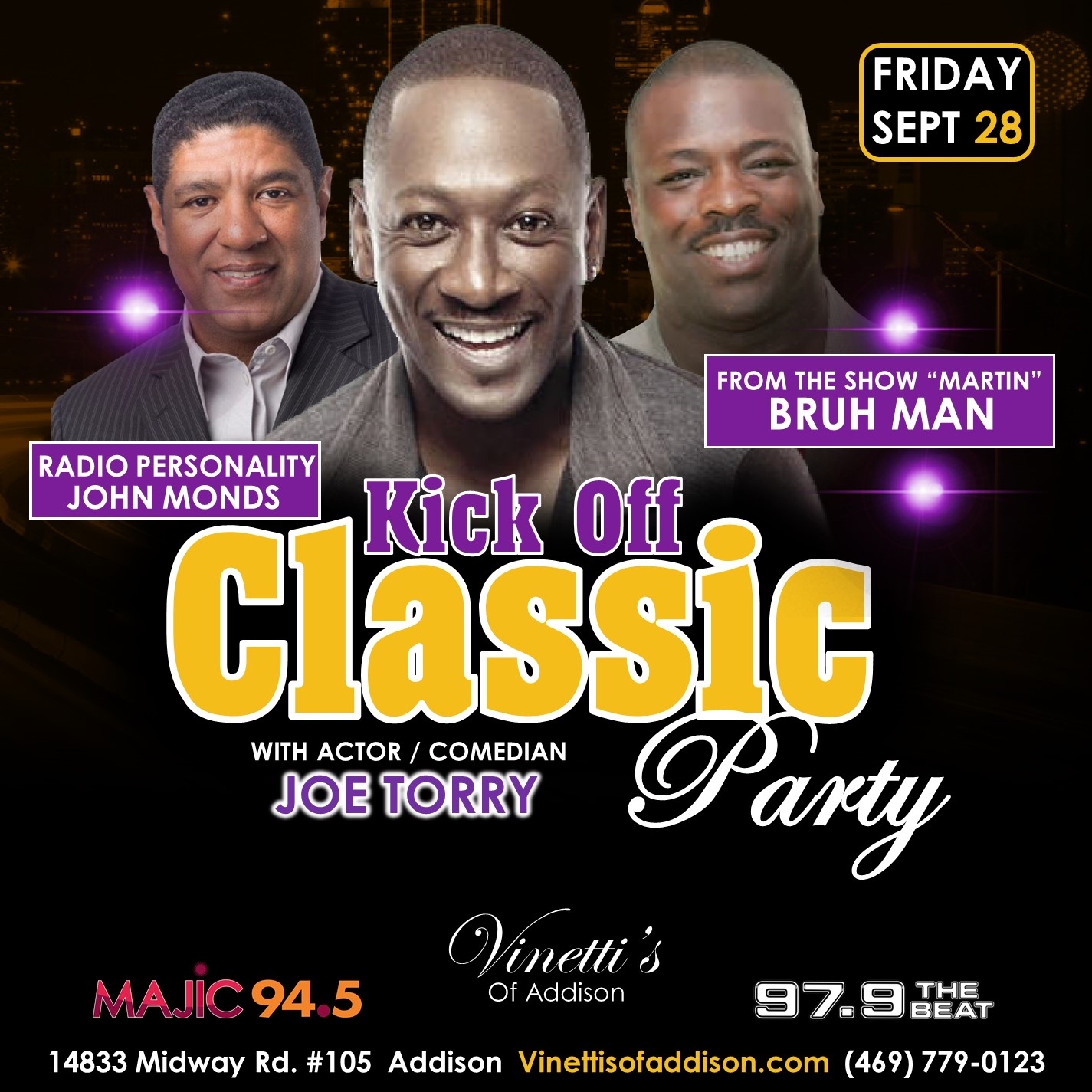 Kick Off Classic Party 2018