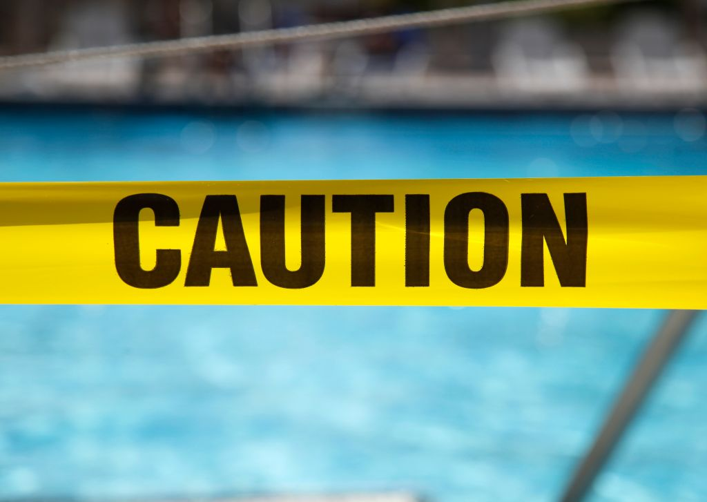 Caution Tape Pool